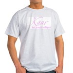 Kaur Ash Grey T-Shirt