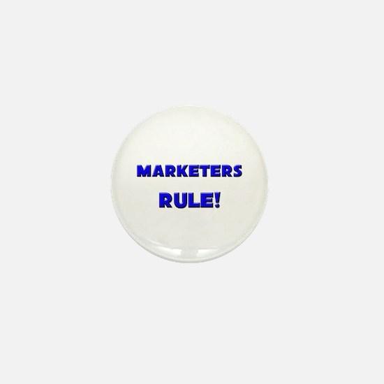 Marketers Rule! Mini Button