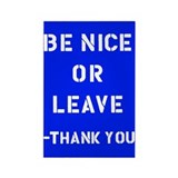 Be nice or leave Single