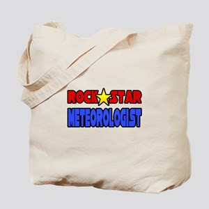"""Rock Star Meteorologist"" Tote Bag"