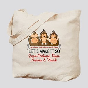 See Speak Hear No Parkinsons 2 Tote Bag