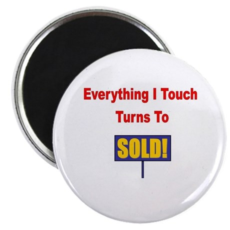 """Turns to sold!!! 2.25"""" Magnet (10 pack)"""