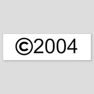 Copyright 2004 Bumper Sticker