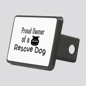 Proud Owner of a Rescue Do Rectangular Hitch Cover