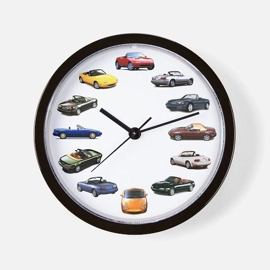 Miata Wall Clock