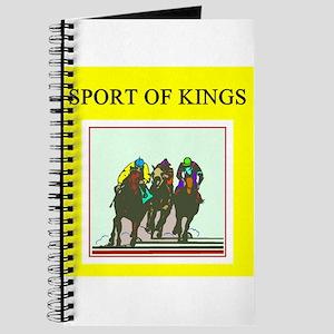 thoroughbred racing horse Journal