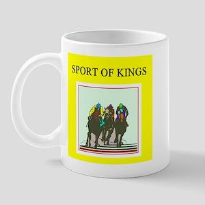 thoroughbred racing horse Mug
