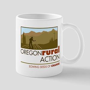 Oregon Rural Action Color Logo Mug