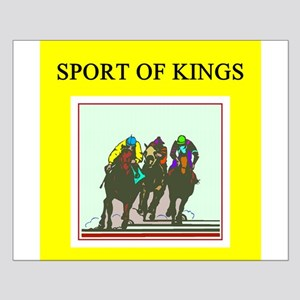 horse racing gifts t-shirts Small Poster
