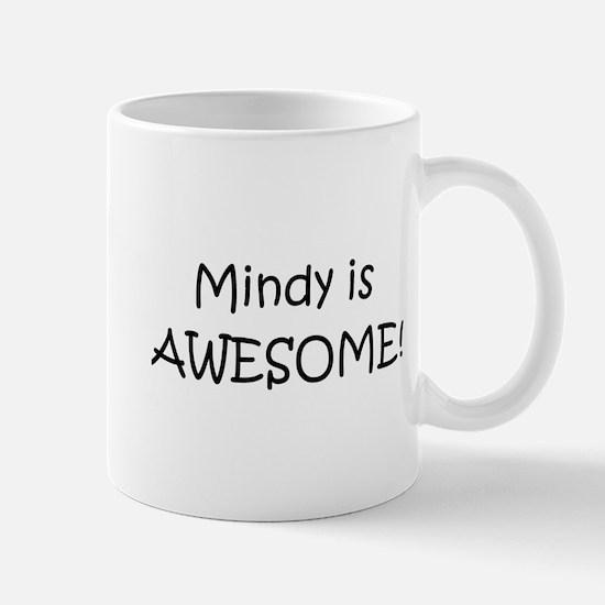 Funny I love mindy Mug