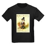 Irish Thanksgiving Kids Dark T-Shirt