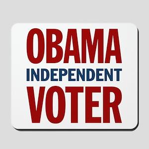 Obama Independent Voter Mousepad