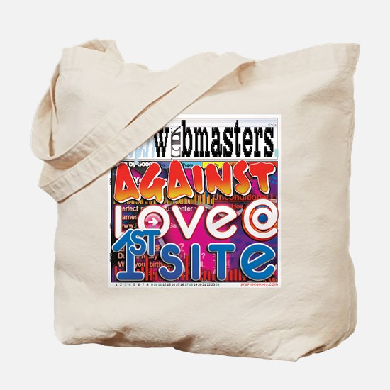 Webmasters Against Love @ 1st Tote Bag