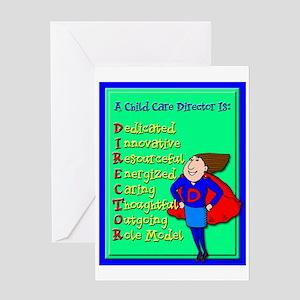 D.I.R.E.C.T.O.R. Child Care Director Greeting Card
