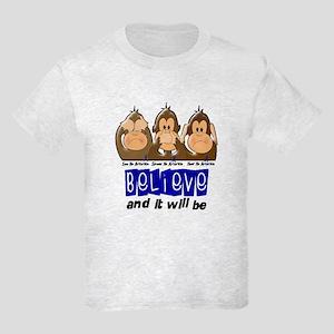 See Speak Hear No Arthritis 3 Kids Light T-Shirt
