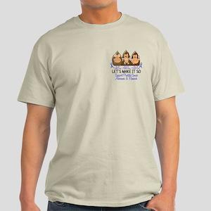 See Speak Hear No Prostate Cancer 2 Light T-Shirt