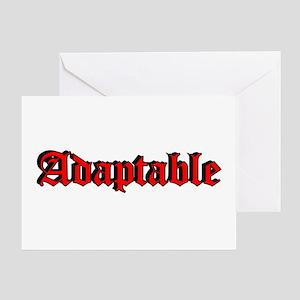 """Adaptable"" Greeting Card"