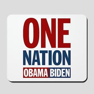 One Nation Obama-Biden Mousepad