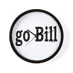 go Bill Wall Clock
