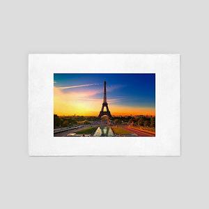 Eiffel Tower 4' x 6' Rug