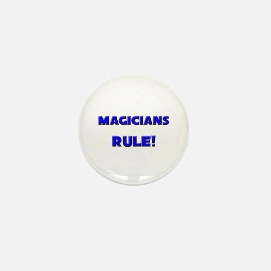 Magicians Rule! Mini Button