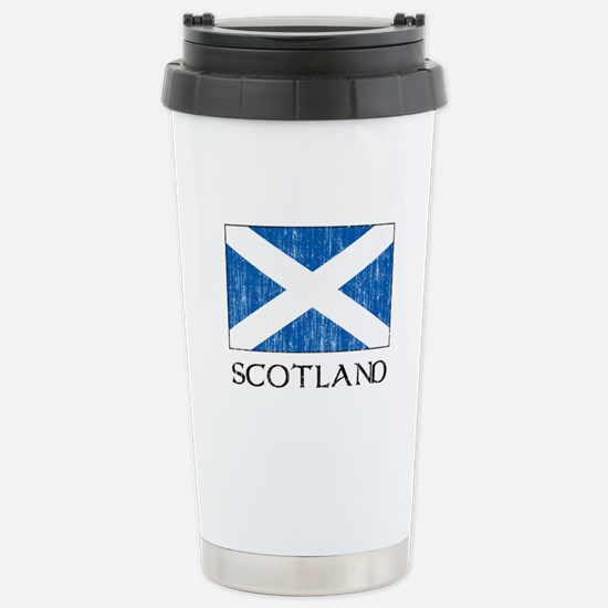 Scotland Flag Stainless Steel Travel Mug