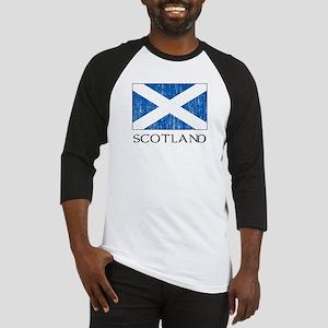 Scotland Flag Baseball Jersey