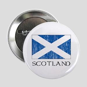 """Scotland Flag 2.25"""" Button"""
