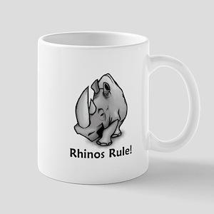 Rhinos Rule! Mug
