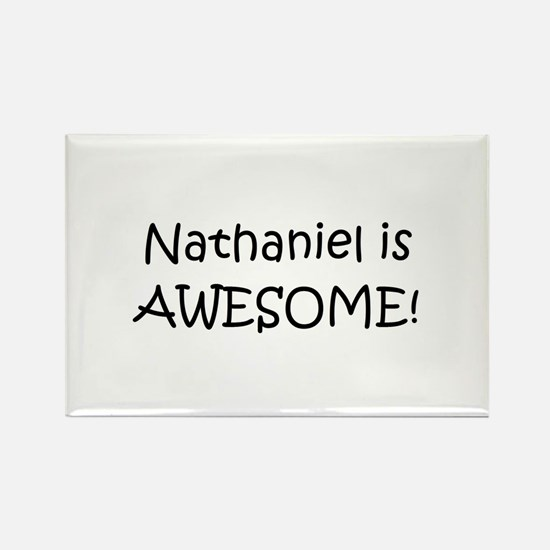 Funny Nathaniel Rectangle Magnet