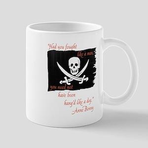 Anne Bonny Pirate Flag Mugs
