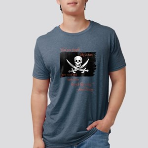 Anne Bonny Pirate Flag T-Shirt