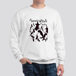 Mermaid Witch Halloween Part Sweatshirt