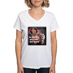 Sarah Palin, Bill's Fantasy Women's V-Neck T-Shirt