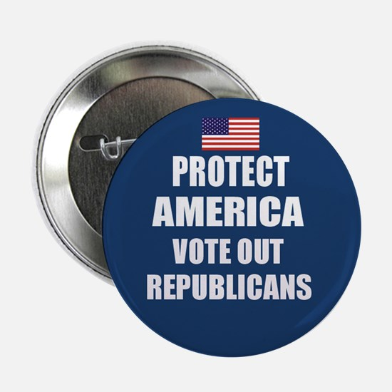 Vote Out Republicans Button