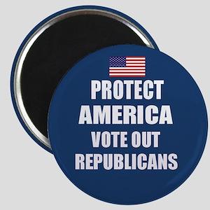 Vote Out Republicans Magnet