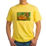Kids Thanksgiving Yellow T-Shirt