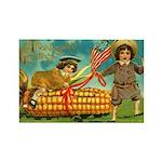 Kids Thanksgiving Rectangle Magnet (10 pack)