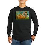 Kids Thanksgiving Long Sleeve Dark T-Shirt