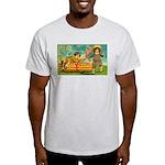 Kids Thanksgiving Light T-Shirt