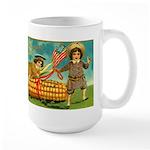 Kids Thanksgiving Large Mug