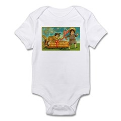 Kids Thanksgiving Infant Bodysuit