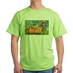 Kids Thanksgiving Green T-Shirt