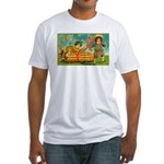 Kids Thanksgiving Fitted T-Shirt