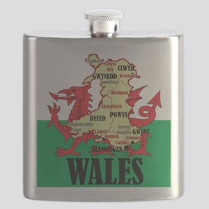 Wales 2 Flask