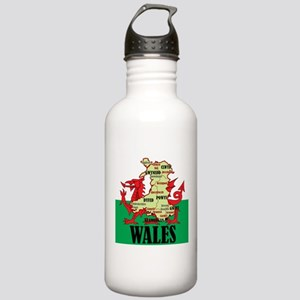Wales 2 Water Bottle