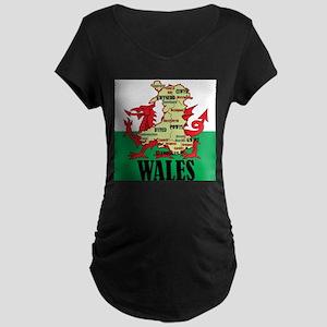 Wales 2 Maternity T-Shirt