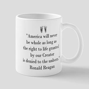 Reagan on Right to Life Mug
