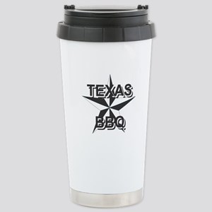 Texas BBQ Stainless Steel Travel Mug