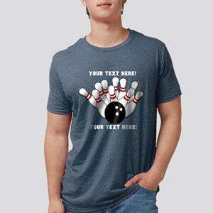 Personalized Bowling Team Ori Women's Dark T-Shirt